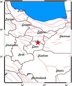 زلزله بار ديگر تهران را لرزاند + جزئيات كامل