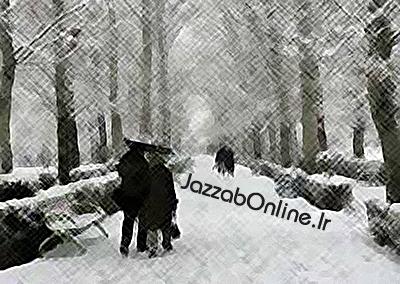 برف باریدن در گرگان و سپید پوش شدن گرگان