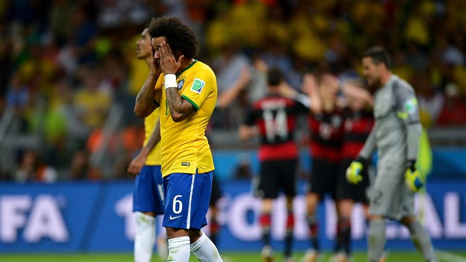 عکس بازی برزیل و آلمان و باخت برزیل 1 7