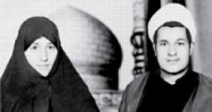عکس جوانی هاشمی رفسنجانی و همسرش