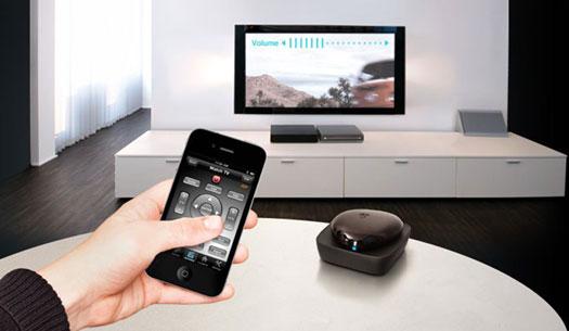 تبدیل موبایل به کنترل تلوزیون