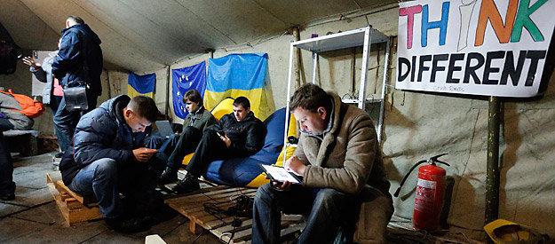 نقش شبکه های اجتماعی در شورش اوکراین