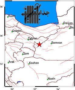 زلزله سه ریشتری در سمنان